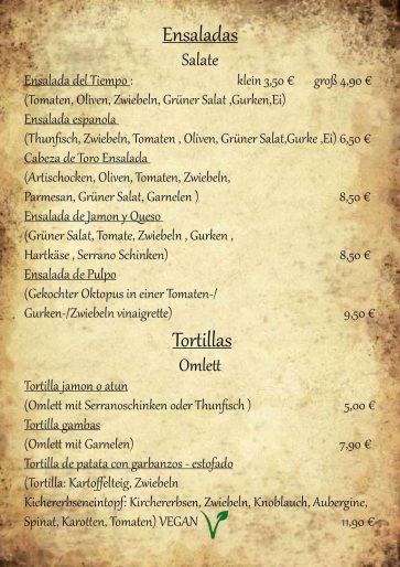 Salate Tortillas